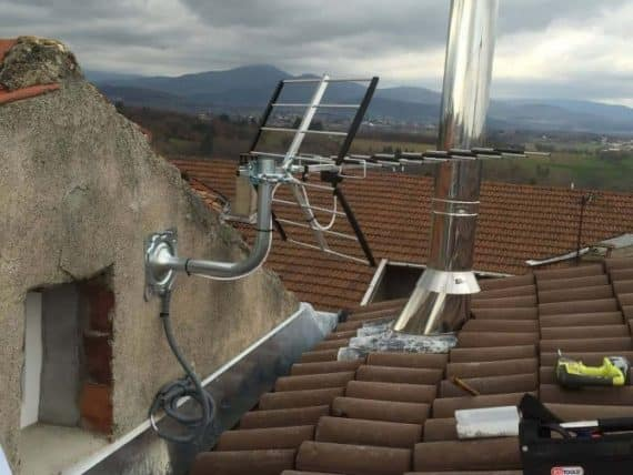Installation antenne